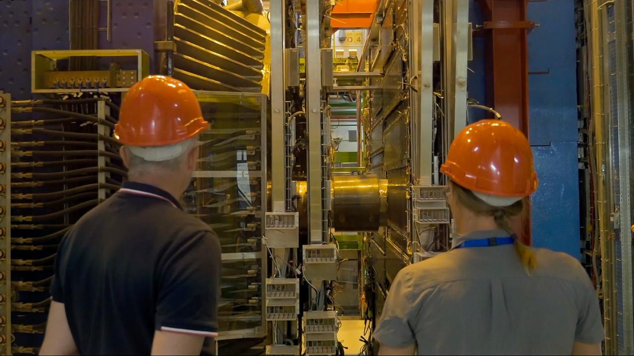 reportage vidéo CERN