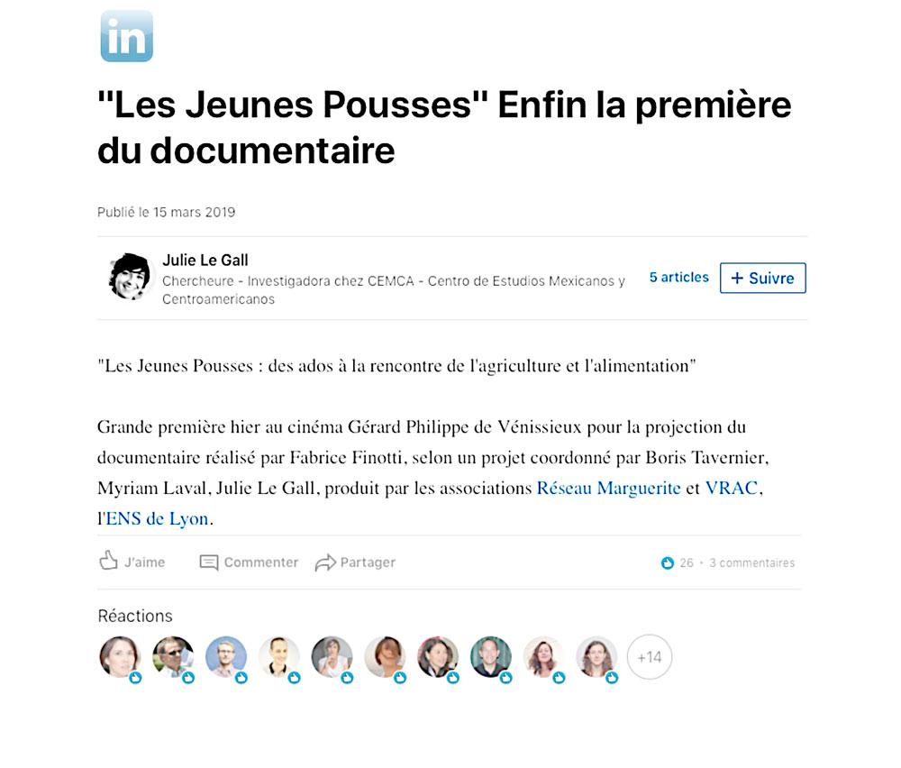 LES-JEUNES-POUSSES_LINKEDIN_JULIE-LEGALL_PRESSE_FABRICE-FINOTTI_REPORTAGE