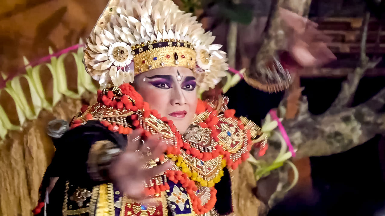 Captation danse Ubud